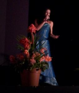 Yani Díaz, una de las finalistas del Concurso.